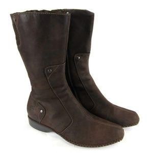 Timberland Comforia Suede Zip Boot Size 6
